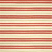 Hamtpton Calypso Pink Striped Cotton Print Drapery Fabric by Premium Prints 30 Yard Bolt