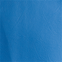 Expanded Vinyl Medium Blue Upholstery Fabric Swatch