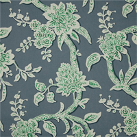 Brookhaven Aquarius Green Floral Cotton Print Drapery Fabric by Richtex Premium Prints 30 Yard Bolt