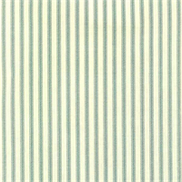 Berlin Lake Blue Ticking Cotton Print Drapery Fabric by Richtex Premium Prints 30 Yard Bolt