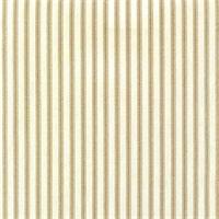 Berlin Driftwood Brown Ticking Cotton Print Drapery Fabric by Richtex Premium Prints 30 Yard Bolt