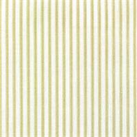 Berlin Meadow Green Ticking Cotton Print Drapery Fabric by Richtex Premium Prints 30 Yard Bolt