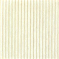 Berlin Sand Tan Ticking Cotton Print Drapery Fabric by Richtex Premium Prints 30-Yard-Bolt