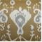 Java Umber Ikat Drapery Fabric by Richtex Premium Prints 30 Yard Bolt