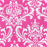 Ozborne Candy Pink by Premier Prints Drapery Fabric