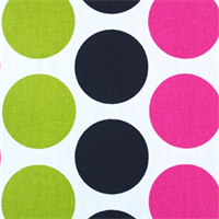 Fancy Candy Pink/Black by Premier Prints - Drapery Fabric