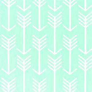 Arrow Mint Twill Printed Drapery Fabric by Premier Prints