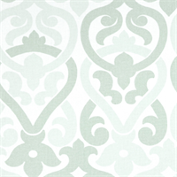 Alex Artichoke Green Contemporary Print Drapery Fabric by Premier Prints