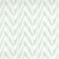 Rhodes Artichoke Green Flame Stitch Print Drapery Fabric by Premier Prints
