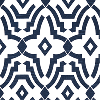 Chevelle Premier Navy Slub Contemporary Print Drapery Fabric by Premier Prints