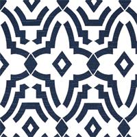 Chevelle Premier Navy Slub Contemporary Print Drapery Fabric by Premier Prints