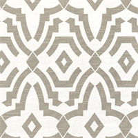 Chevelle Ecru Slub Grey Contemporary Print Drapery Fabric by Premier Prints
