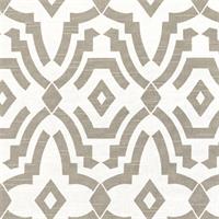 Chevelle Ecru Slub Grey Contemporary Print Drapery Fabric by Premier Prints