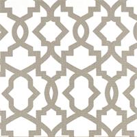 Sheffield Ecru Grey Contemporary Drapery Fabric