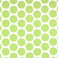 Fancy Kiwi Green Dot Print Drapery Fabric by Premier Prints