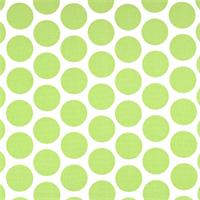 Fancy Kiwi Green Dot Print Drapery Fabric by Premier Prints