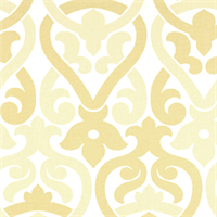Alex Saffron Yellow Contemporary Print Drapery Fabric by Premier Prints