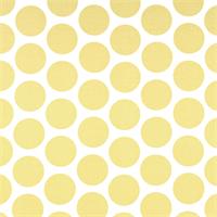 Fancy Saffron Yellow Dot Print Drapery Fabric by Premier Prints