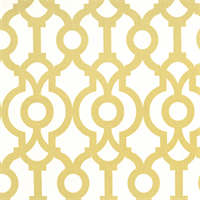 Lyon Saffron Yellow Contemporary Drapery Fabric by Premier Prints