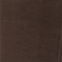 Gloria Chocolate Brown Cotton Velvet Upholstery Fabric