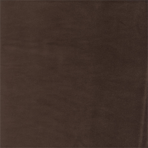 Gloria Chocolate Brown Cotton Velvet Upholstery Fabric 49692