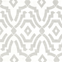 Chevelle French Grey Slub Contemporary Print Drapery Fabric by Premier Prints