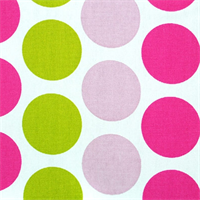 Fancy Candy Pink/Chartreuse by Premier Prints - Drapery Fabric