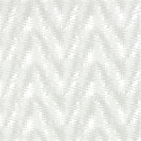 Rhodes French Grey Flame Stitch Print Drapery Fabric by Premier Prints