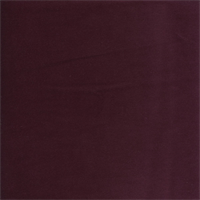 Gloria Aubergine Solid Purple Cotton Velvet Upholstery Fabric