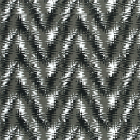 Rhodes Shadow Black Flame Stitch Print Drapery Fabric by Premier Prints