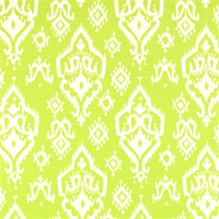 Raji Canal Green Slub Ikat Print Drapery Fabic by Premier Prints