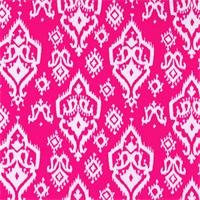 Raji Candy Pink Ikat Print Drapery Fabic by Premier Prints