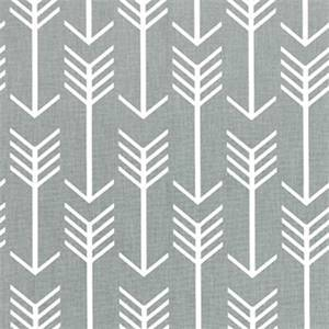 Arrow Cool Grey Printed Drapery Fabric by Premier Prints