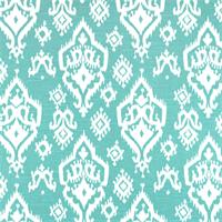 Raji Spirit Blue Slub Ikat Print Drapery Fabic by Premier Prints