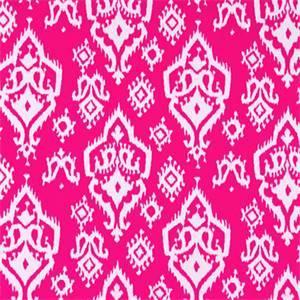 Raji Candy Pink Ikat Print Drapery Fabic by Premier Prints 30 Yard Bolt