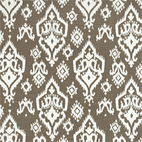 Raji Spirit Brown Slub Ikat Print Drapery Fabic by Premier Prints 30 Yard Bolt