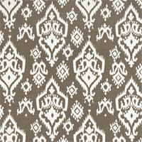 Raji Spirit Brown Slub Ikat Print Drapery Fabic by Premier Prints 30 Yard Bolt