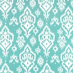 Raji Spirit Blue Slub Ikat Print Drapery Fabic by Premier Prints 30 Yard Bolt