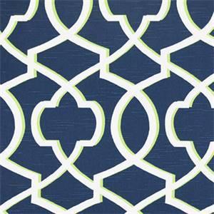 Morrow Canal Slub Blue Contemporary Print Drapery Fabric by Premier Prints 30 Yard Bolt