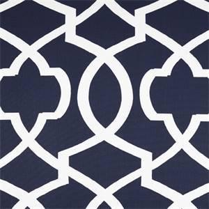 Morrow Blue Contemporary Print Drapery Fabric by Premier Prints 30 Yard Bolt