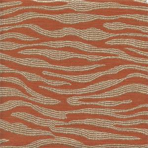 Current Tangerine Orange Woven Upholstery Fabric