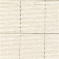 Squares Ivory Check Upholstery Fabric Swatch