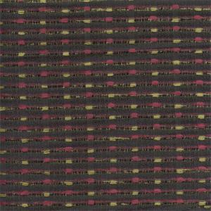 Alex Multi Black Pink Horizontal Chenille Stripe Upholstery Fabric
