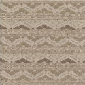 Belgodo Sand Tan Contemporary Woven Horizontal Stripe Upholstery Fabric