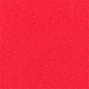 Stellar Coral Orange Solid Cotton Drapery Fabric by Robert Allen