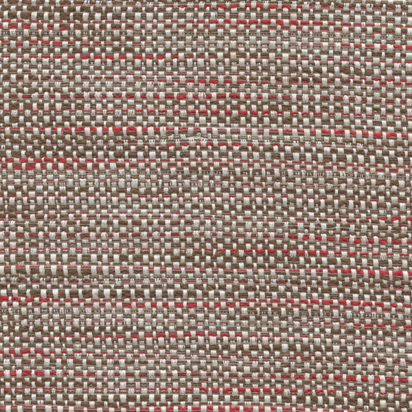 Brisbane Cherry Truffle Red Brown Tweed Upholstery Fabric