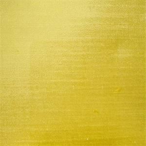 Antique Velvet Sunshine Solid Yellow Velvet Upholstery Fabric Swatch