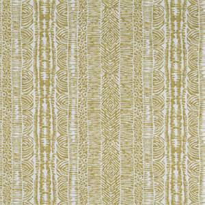 Global Lines Amber Gold Contemporary Drapery Fabric by Robert Allen