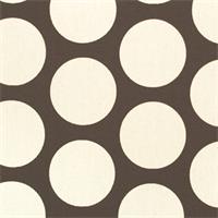 Dandie Chocolate/Natural by Premier Prints - Drapery Fabric