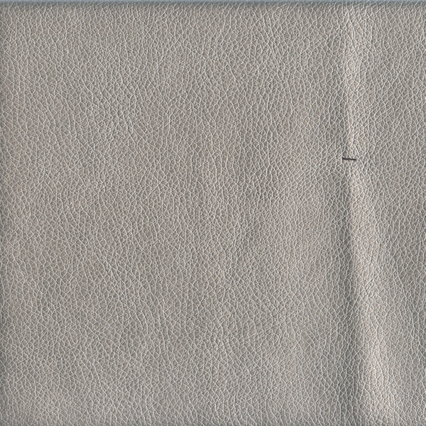 Pecos Silver Gray Faux Leather Upholstery Fabric 50741